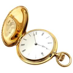 Patek Philippe Yellow Gold Manual wind Pocket Watch