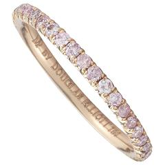 Marisa Perry Fancy Pink Diamond Rose Gold Eternity Band