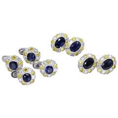 Buccellati Diamond gold Platinum Tuxedo Suite