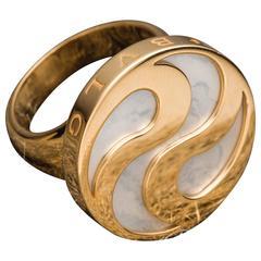 Bulgari Alegra Ring 18 Karat Yellow Gold