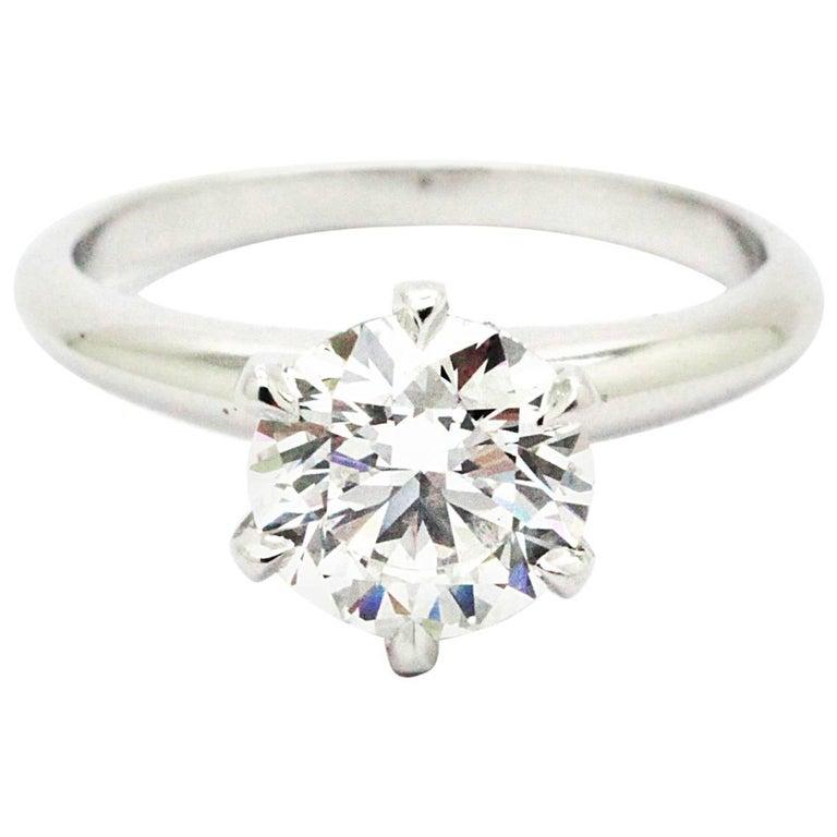 FERRUCCI GIA Certified 1.50 Carat D color VVS2 Diamond Ring For Sale