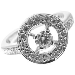 Boucheron Paris Ava Round Diamond Gold Ring