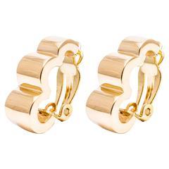 Tiffany & Co. Retro Gold Earrings