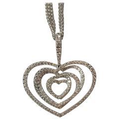 Stenzhorn Multi Heart Diamond gold Pendant