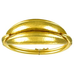 Ilias Lalaounis Gold Bangle