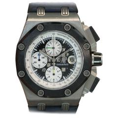 Audemars Piguet Titanium Royal Oak Offshore Barrichello II Titanium Wristwatch