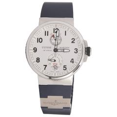 Ulysse Nardin Stainless Steel Marine Automatic Wristwatch
