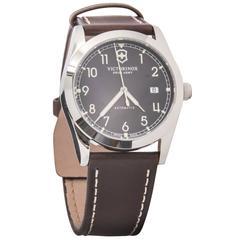 Victorinox Swiss Army Black Dial Automatic Wristwatch