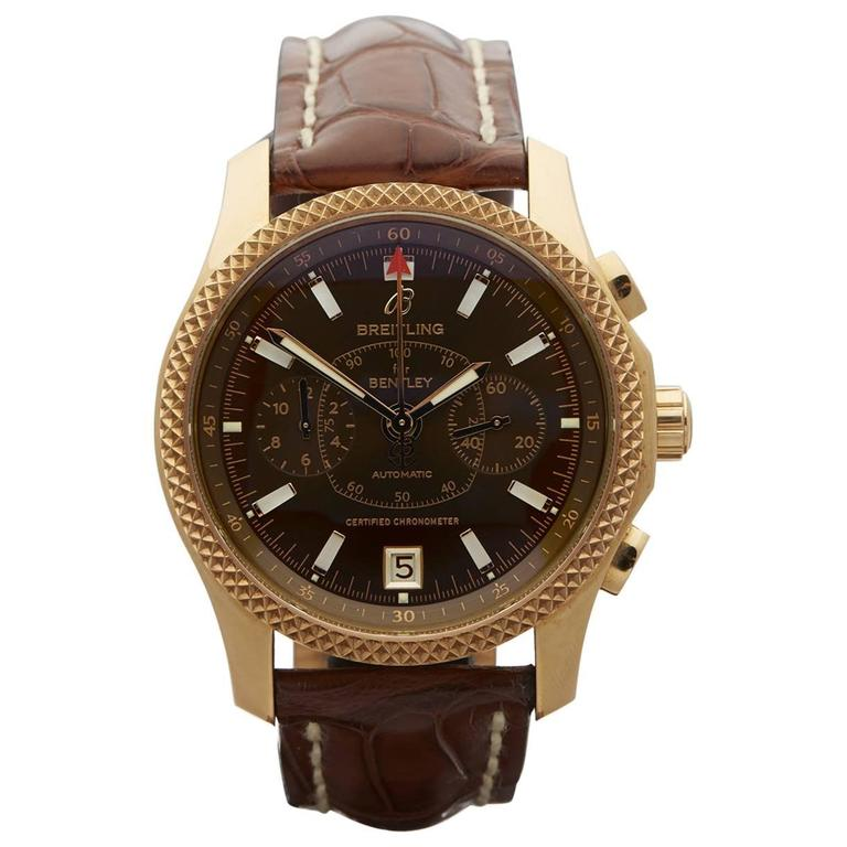 Breitling Rose Gold Bentley Mark VI Flying B Automatic