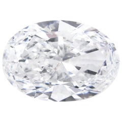 "9.12 Carat ""Golconda"" Oval Cut D Color Internally Flawless Diamond"