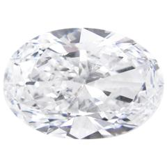 "9.12 Carat ""Golconda"" Oval Cut D Color Internally Flawless Diamond"