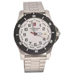 Victorinox Swiss Army Stainless Steel Maverick Sport Quartz Wristwatch