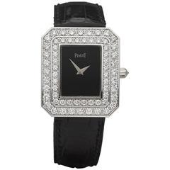 Piaget Ladies White Gold diamonds LimeLight original Quartz Wristwatch