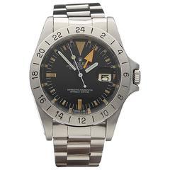 Rolex Stainless Steel Explorer II steve mcqueen Automatic Wristwatch