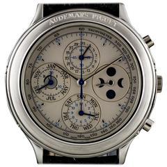 Audemars Piguet Platinum Millenary Perpetual Calendar Moonphase Chronograph
