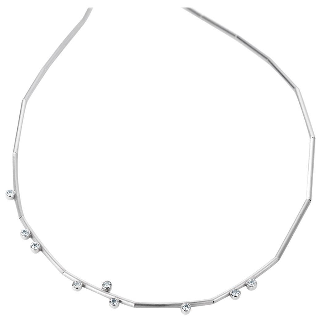 German Henrich & Denzel Diamond and Platinum Dew Necklace