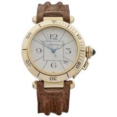 Cartier Yellow Gold Pasha de Cartier Automatic Wristwatch W3004856