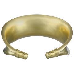 Faye Kim Gold Cuff Bracelet