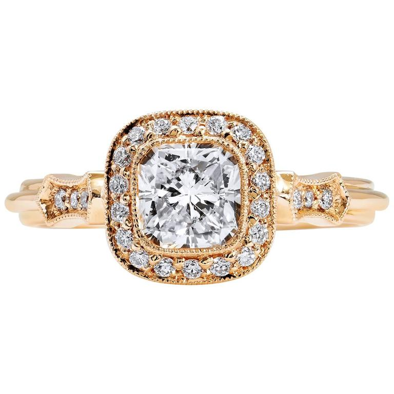 103 carat radiant cut diamond engagement ring for sale at