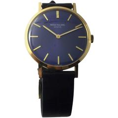 Patek Philippe & Co. Yellow Gold Calatrava Manual Wind Wristwatch