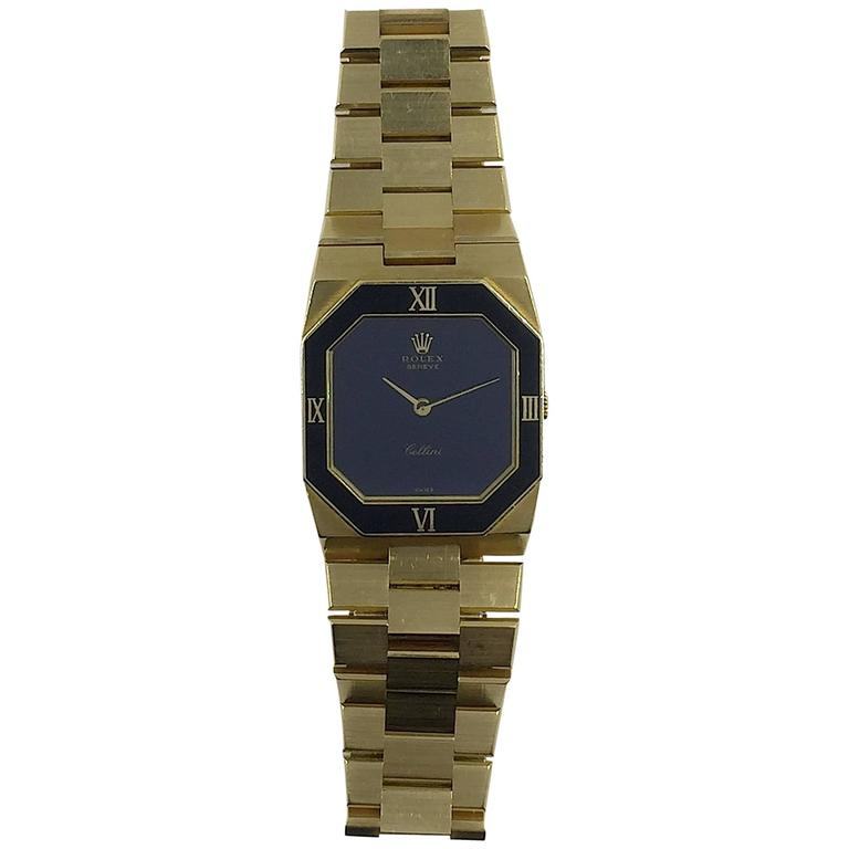 Rolex Yellow Gold Cellini Manual Wind Wristwatch