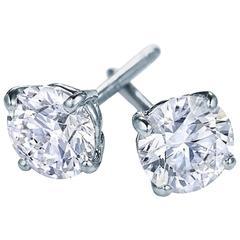 6.01 Carats Diamond Studs