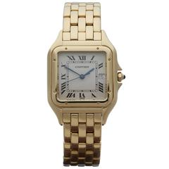 Cartier Ladies Yellow Gold Panthere Quartz Wristwatch Ref W25014B9