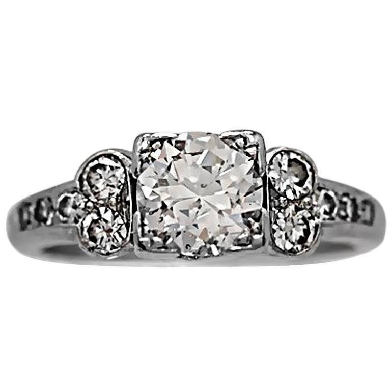 .70 Carat Platinum Diamond Engagement Ring