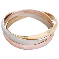 Cartier Trinity Gold Tri-Color Ring Sz. 51 (US 5-3/4)