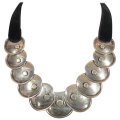 Hector Aguilar Silver Armadillo Necklace