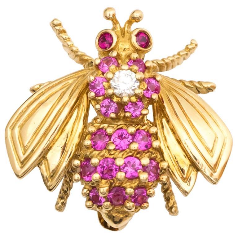 1960s Tiffany & Co. Bee Pin