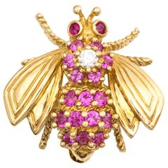 1960s Tiffany & Co.  Bee Pin