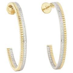 Boucheron Quatre Collection Diamond & Gold Earrings