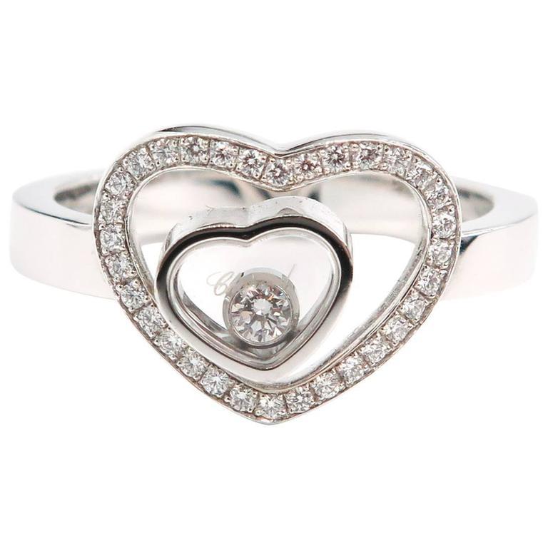 Happy Hearts Chopard Diamond Ring