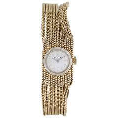Rolex Ladies yellow gold Multi-Chain Manual winding Bracelet Wristwatch