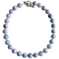 Lavender Mystic Moonstone Choker Necklace