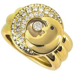 Chopard Happy Diamonds Moon Ring