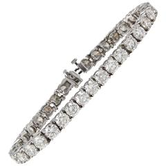 Half a carat Each Diamond Tennis Bracelet