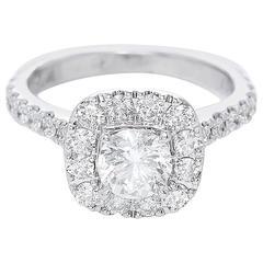 Neil Lane Bridal Collection Round Diamond Halo Ring