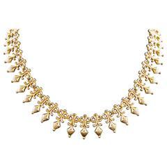 Antique 18KT Gold Necklace 19th Century