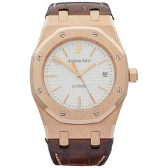 Audemars Piguet Rose Gold Automatic Wristwatch