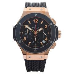 Hublot Rose Gold Big Bang Automatic Wristwatch 341.PB.131.RX