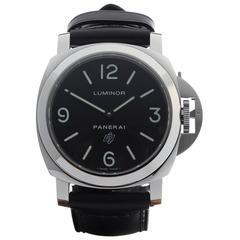 Panerai Stainless Steel Luminor Base Automatic Wristwatch PAM0000 2014