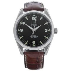 Omega Stainless Steel Railmaster Automatic Wristwatch