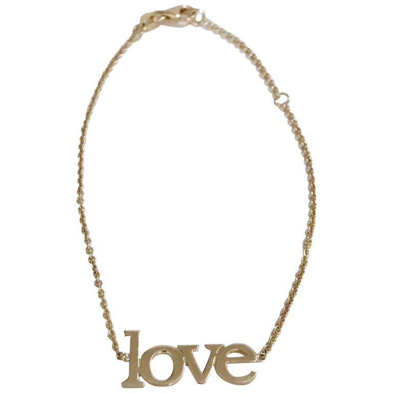 14kt Yellow Gold Large Love Bracelet 1