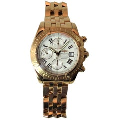 Breitling Rose Gold Evolution Watch Limited Edition