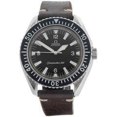 Omega Stainless Steel Seamaster 300m Wristwatch