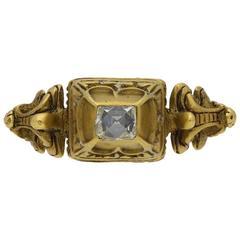 Antique Renaissance 16th Century Diamond Gold Ring