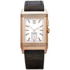 Jaeger-LeCoultre Rose Gold Grande Reverso Automatic Wristwatch