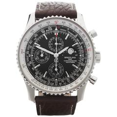 Breitling Stainless Steel Navitimer Automatic Wristwatch